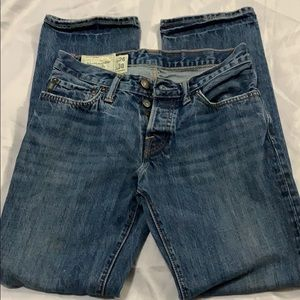 Abercrombie & Fitch jeans, Size 28X30